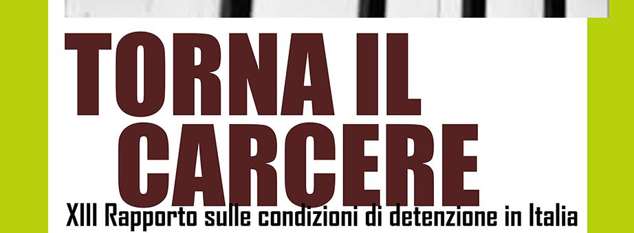 Venerdì 24 Novembre, ore 18.30 : TORNA IL CARCERE - Incontro con Antigone