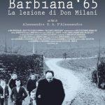 VENERDì 23 NOVEMBRE 2018, ORE 19 : BARBIANA '65