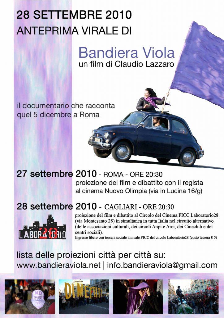 locandina anteprima Bandiera Viola