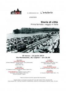 Storie di Città. Prima fermata: viaggio in Italia